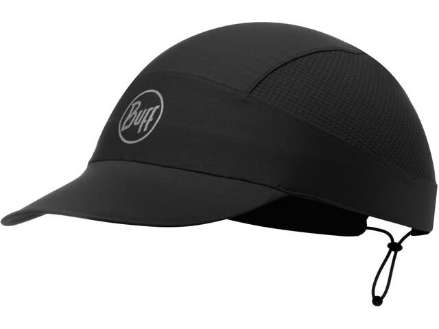 Buff Pack Run Cap reflective-solid black